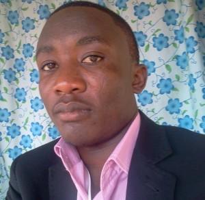 Le journaliste et blogueur Congolais Fidèle Bwirhonde. Photo: Fidèle Bwirhonde