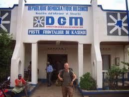 Le bureau du service d'immigration de Kasindi, frontière de la RDC avec l'Ouganda. Photo: michaelbassin.blogspot.com